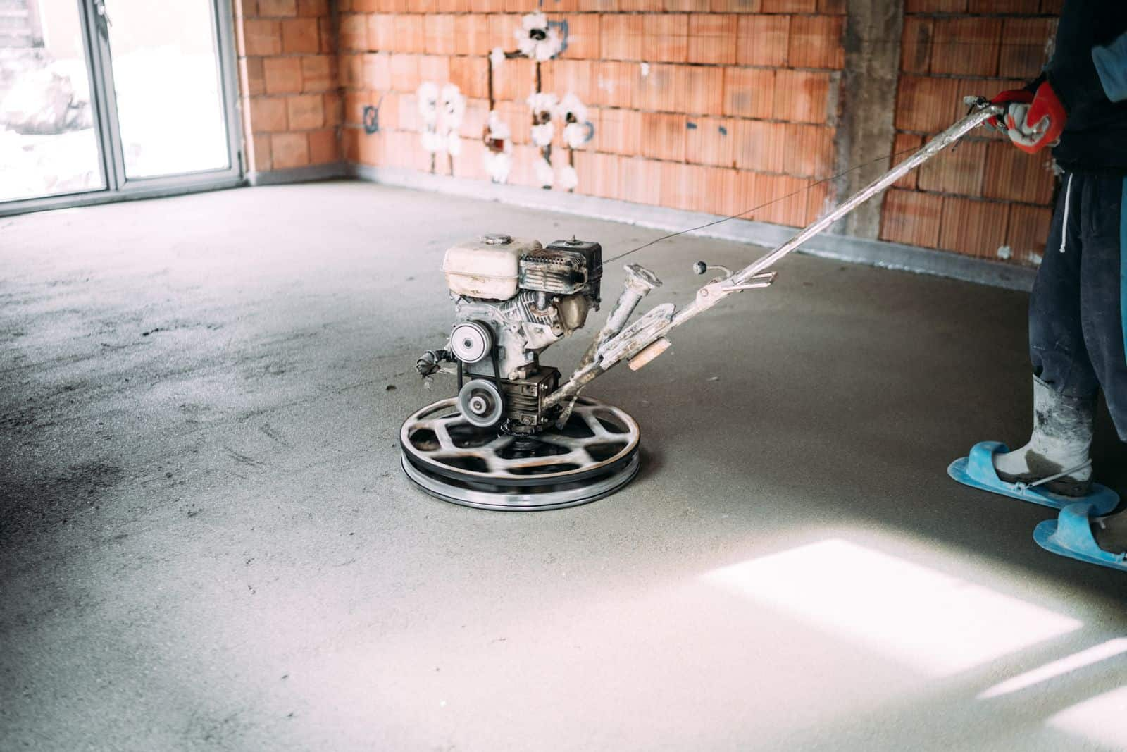 Pardoseli din beton elicopterizat